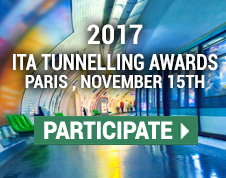 2017 ITA Tunnelling Awards - Paris 15 November - Participate