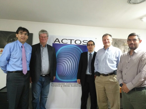 ITACUS chair meets with ACTOS Colombia