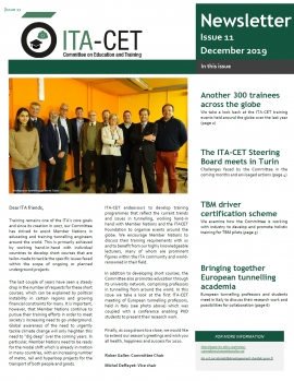 Read the latest issue of our ITA-CET newsletter!