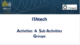 ITAtech AG & SubAG AG at WTC 2016