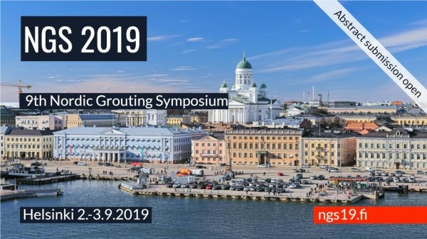 9th Nordic Grouting Symposium