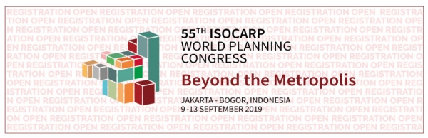 55th ISOCARP World Planning Congress - Beyond the Metropolis in Jakarta, Indonesia
