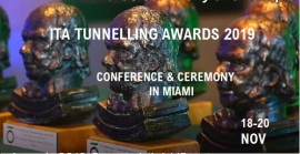 ITA Tunnelling Awards: the list of preselected entries disclosed