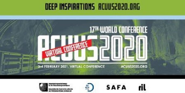 "ITACUS will hold special session ""Planning for sustainable underground spaces"" during ACUUS 17th world conference"