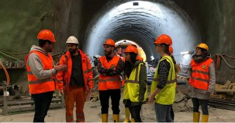 Exco and Young members visited CERN jobsite in Geneva