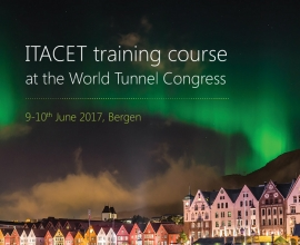 "WTC training course on ""Excavation and Support in Soft Ground Conditions"": 9th-10th June, Bergen, Norway"