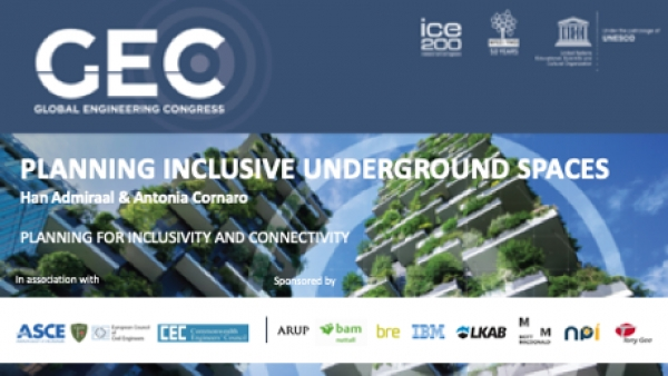ITACUS calls for inclusive underground spaces at Global Engineering Congress 2018