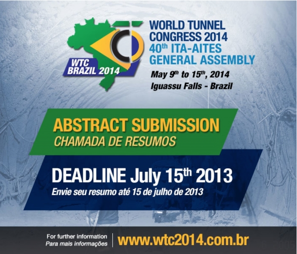 Deadline for Abstracts for WTC is next week