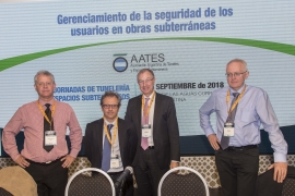 ITA-CET and ITA COSUF collaborate on a training session in Argentina