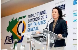 Chinese Woman Excels in Global Tunnel-construction Industry