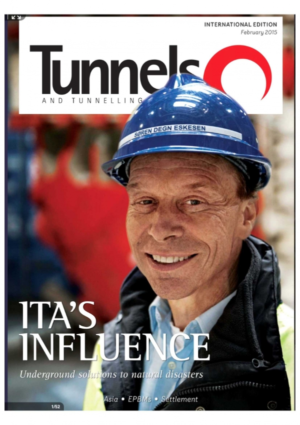 Tunnels and Tunnelling International - February 2015