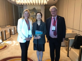 ITACUS co-chairs at international tunnelling and underground space forum in Beijing