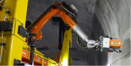Safety initiative of the year: ROBY 850 - Semi-automatic drilling robot