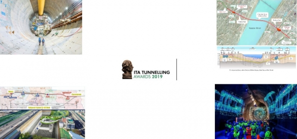 ITA Tunnelling Awards - 4 finalists for the Major Project of the year