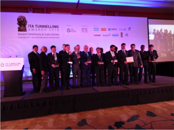 The ITA Tunnelling Awards' Winners finally revealed